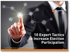 10 Expert Tactics to Increase Election Participation