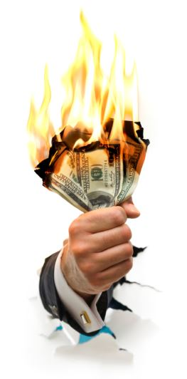 fire money