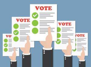 Webinar vote