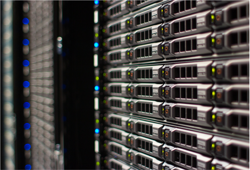 Server room for Survey & Ballot Systems security page