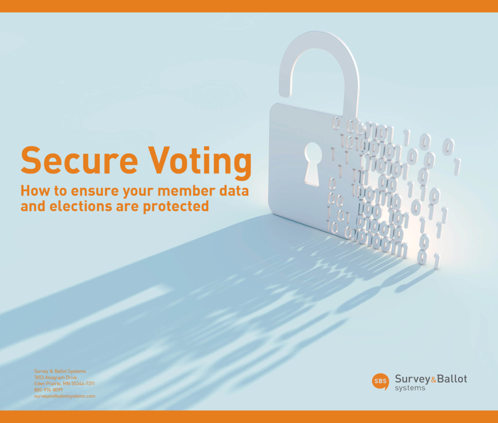 SBS eBook cover Secure Voting and elections