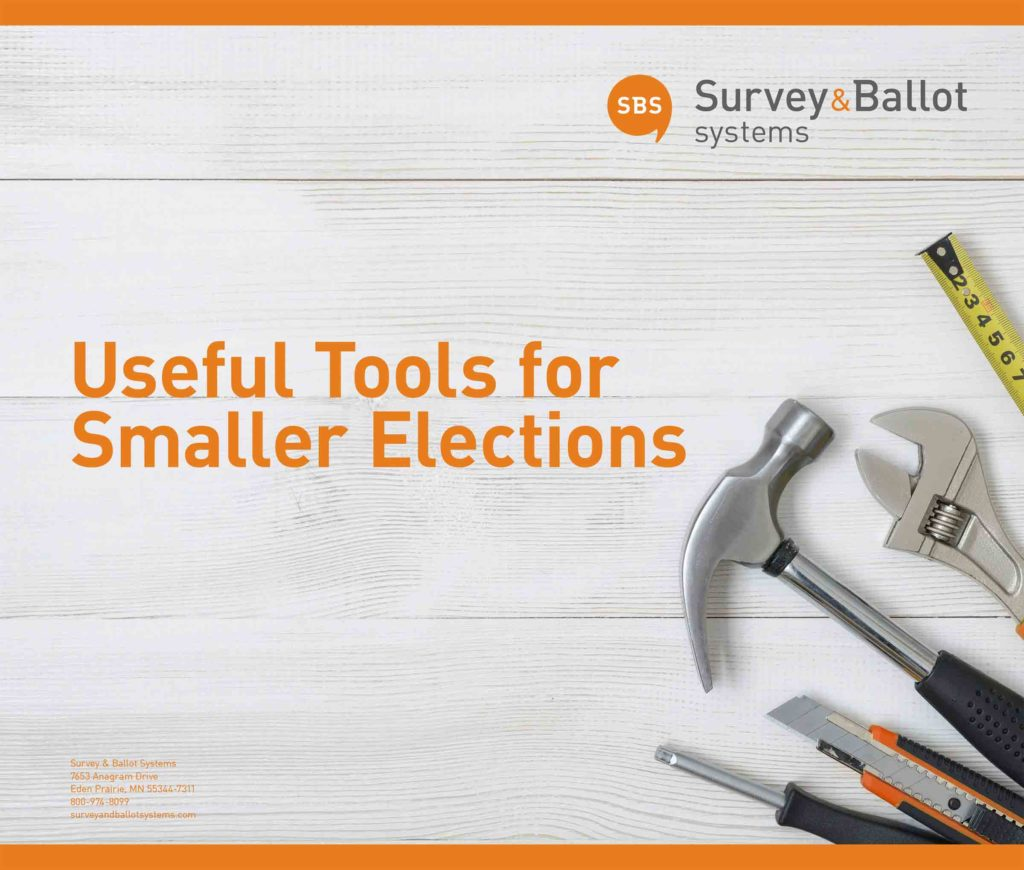 eBook Useful Tools for Smaller Elections