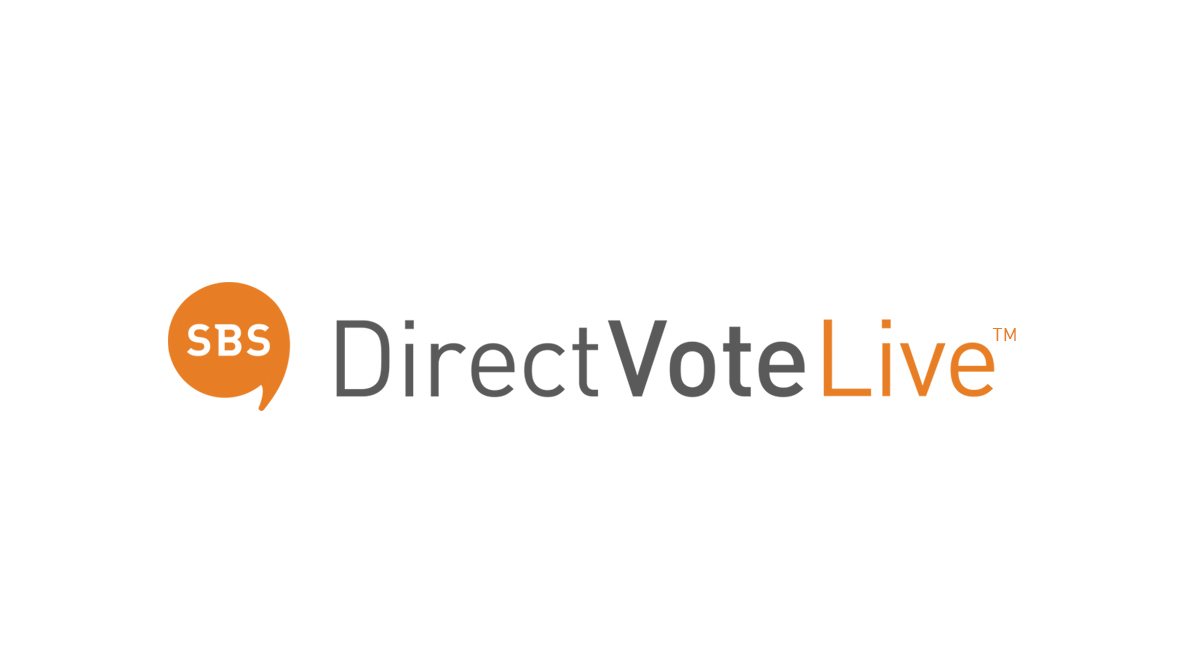 Remote meeting voting with DirectVoteLive