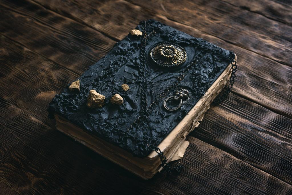 Halloween book of spells