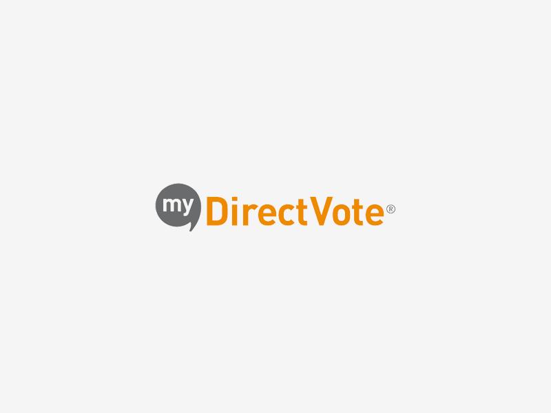 myDirectVote logo